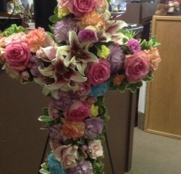 Floral Cross $175