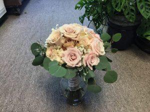 Blushing Bridal side view